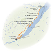 Quebec Multisport Map